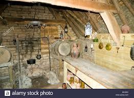 Medieval House Interior Interior Of Bake House Cosmeston Medieval Village Cosmeston