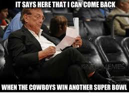 Cowboys Win Meme - it says here thatican comeback ont meme when the cowboys win another