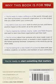 start something that matters blake mycoskie 9780812981445