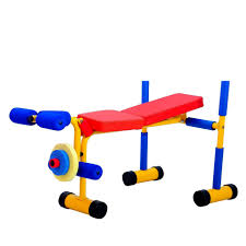 Kids Play Weight Bench Weight Bench Fitkiddz