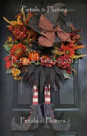 Etsy Halloween Wreath by 221 Best Wreaths Hats Arms Legs Images On Pinterest Halloween