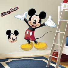 amazon com roommates rmk1508gm mickey mouse peel and stick giant