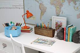 Kid Desk Accessories Playroom Updates With Pottery Barn Perfectly Imperfect