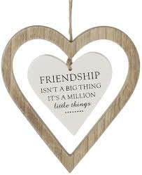 friendship heart friendship heart sign surrey homewares