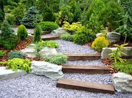 Garden Decor With Stones Decorative Garden Stones Ideas Home Outdoor Decoration