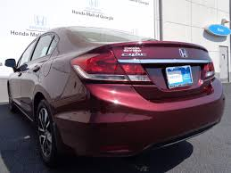 2013 used honda civic sedan 4dr automatic ex at honda mall of