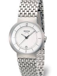 ladies silver bracelet watches images Boccia ladies silver quartz watch with titanium case and bracelet jpg