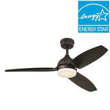 Indoor Outdoor Fans Ceiling Ge Morgan 54 In Led Indoor Outdoor Bronze Ceiling Fan With