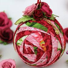 119 best quilted ornaments images on quilted