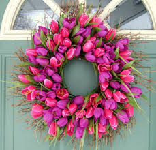 spring wreaths for front door make a wreath for spring lots of ideas its overflowing
