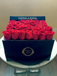boxed roses signature black box chateau des fleurs collection