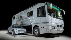 volkner rv volkner mobil car carrying motor home could be yours for 1 2 million