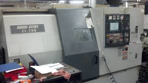 for sale mori seiki zl 200smc dual turret cnc turning center with