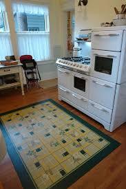 Retro Kitchen Rugs Reproduction Vintage Linoleum Reproduction Linoleum U0027rug