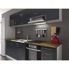 cuisine moin cher cuisine complete arty laqué gris 240cm acheter moins cher