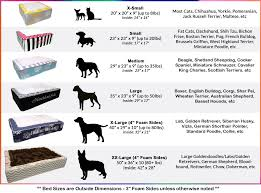 australian shepherd size chart luxury throne pet bed custom dog u0026 cat beds from j u0027adore
