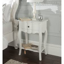 bedroom furniture white wash bedside table wood night table