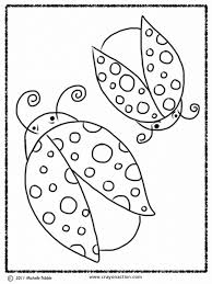 ladybug coloring crayon action coloring pages