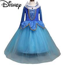 Princess Aurora Halloween Costume Aliexpress Buy Disney Frozen Girls Fantasy Kids Sleeping