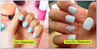 nail art acrylic nails vs gel get youtube sensational image