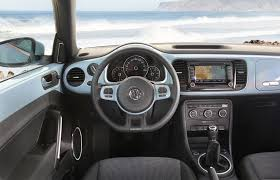 beetle volkswagen blue 2012 demin blue vw beetle interior dashboard eurocar news