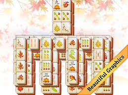 fall mahjong on the app store