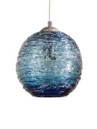 turquoise blue glass pendant lights as a member of the tiny bubbles pendant series the steel blue