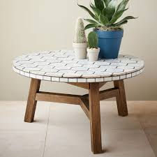 Mosaic Table L Mosaic Coffee Table Outdoor