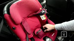 si e auto axiss groupe 1 maxi cosi how to install the axissfix car seat in your car