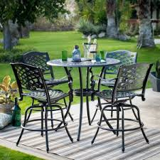 Pub Height Patio Table Balcony Bar Height Patio Dining Sets Hayneedle