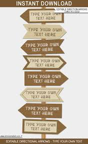 themed signs new large printable cing party signs and backdrops