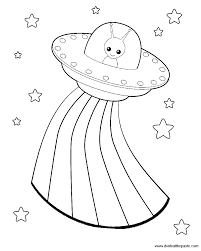stylish design alien coloring pages smiling for kids printable
