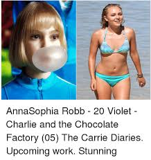 Charlie And The Chocolate Factory Memes - hm annasophia robb 20 violet charlie and the chocolate factory