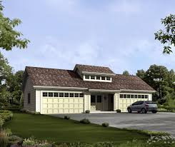 independent and simplified life with garage plans with living beautiful 4 car garage plan with up floor living space large front yard with green grass