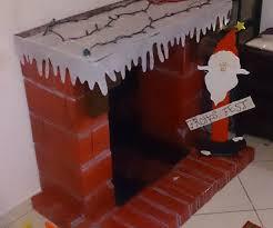 decorative cardboard fireplace 7 steps