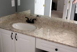 Black Faucets by Faux Granite Countertop American Country Style Interior With