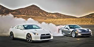gtr or corvette whatifwednesday nissan gt r vs corvette zr 1 amf