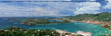 St Thomas Island Map Home