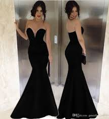 out dresses 2018 black sweetheart mermaid out dresses for women