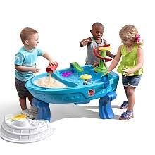 step 2 water table with umbrella step2 fiesta cruise sand water table with umbrella step 2