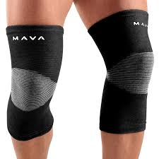 amazon com mava sports knee support sleeves pair for joint pain