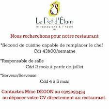 cv second de cuisine 8 best notre restaurant images on diners restaurant and