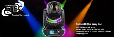 Prisma Lighting Dj Equipment Online Shop Elcotec Electronic Etec Professional