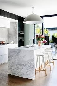 Island Bench Kitchen Designs Best 25 Modern Marble Kitchen Counters Ideas On Pinterest