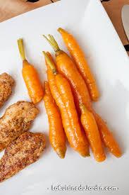 cuisiner les carottes carottes nouvelles glacées méthode joël robuchon la cuisine du