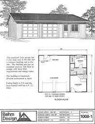 Garage Apartments Plans Garage With Apartment Plan No 1008 1 36 U0027 X 28 U0027 By Behm Design
