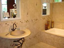 bathroom tile decorating ideas marble walls and smoked glass door
