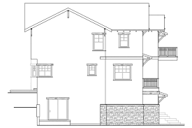 craftsman house plans with walkout basement lake house plans walkout bat ranch style house plans no basement