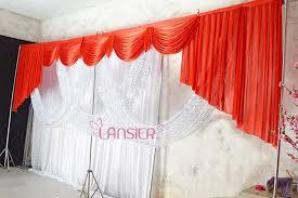 wedding drapes sheer detachable wedding swags drapes panels wedding backdrop