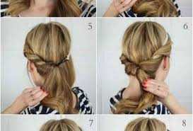 hairstyles with steps updo hairstyles step by step easy updo hairstyles for long hair